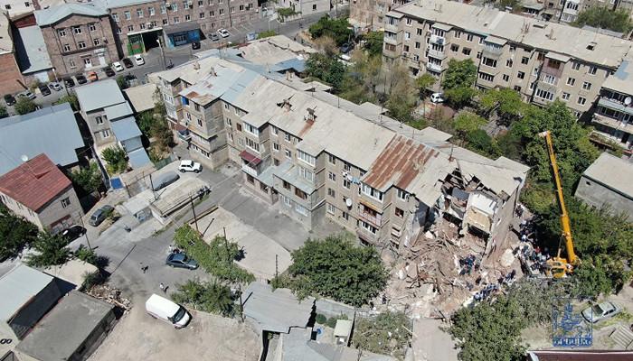 Փլուզված շենքի բնակիչներին ֆինանսական աջակցություն կտրամադրվի