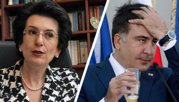 """Бурджанадзе: """"Саакашвили не вернется в Грузию"""""""