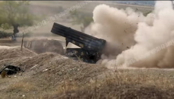 Defense Army artillerymen: shots from Artsakh frontline