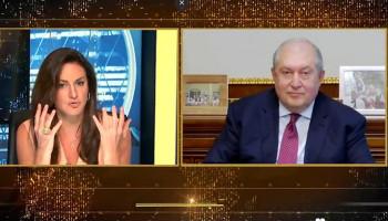 Արմեն Սարգսյանի հարցազրույցը #CNBC հեռուստաալիքին