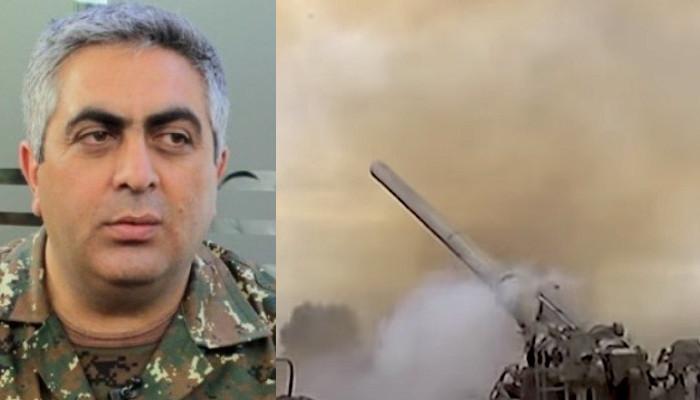 "A. Hovhannisyan: ""Hadrut was hit by artillery''"