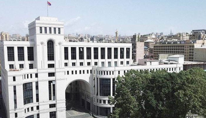 Statement by the Foreign Ministry of Armenia regarding the statement of the Foreign Ministers of the OSCE Minsk Group Co-Chair countries