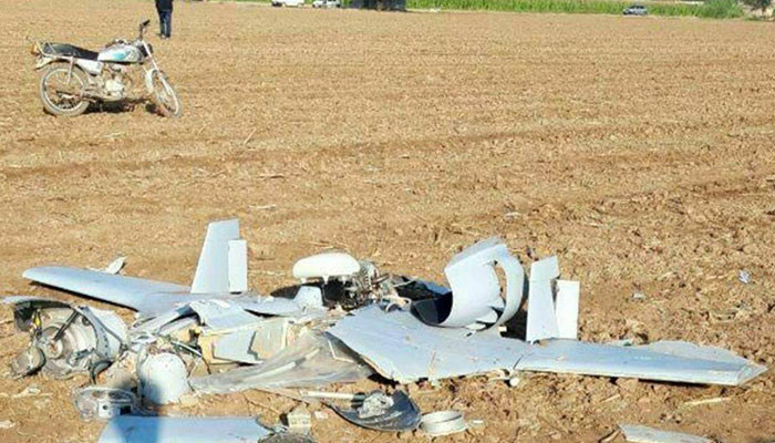 On the territory of Iran again crashed UAV