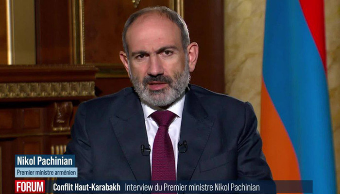 ''If the international community does nothing, the people of Nagorno-Karabakh will be the victims of genocide'': Pashinyan