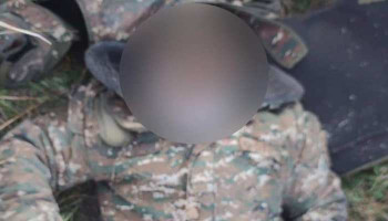 Azerbaijani military forces beheaded an Armenian soldier several days ago