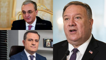 Pompeo to host Armenian, Azerbaijani foreign ministers amid deadly clashes