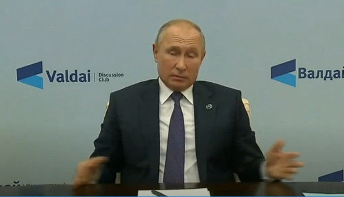 """""""В день по несколько раз с ними говорю"""": Путин о контактах с Пашиняном и Алиевым"""