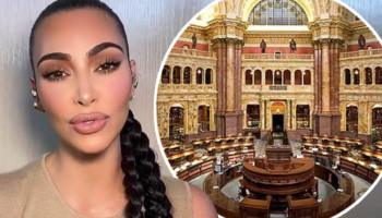 ''We are one global Armenian nation''. Kim Kardashian thanked the library of Congress