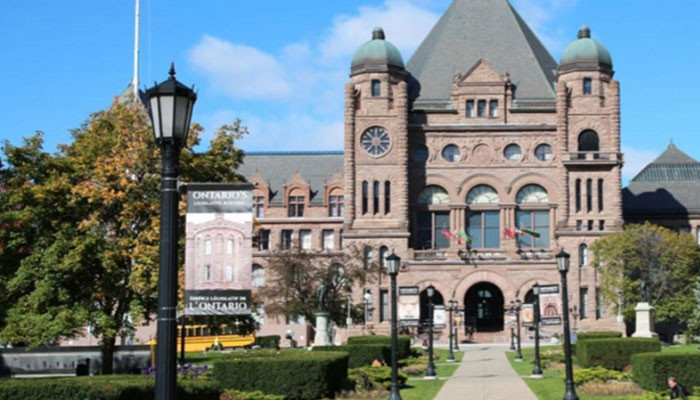 The Ontario parliament has proposed expelling Turkey from NATO