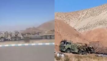 Իրանը զինտեխնիկա է մոտեցնում Ադրբեջանի հետ սահմանին