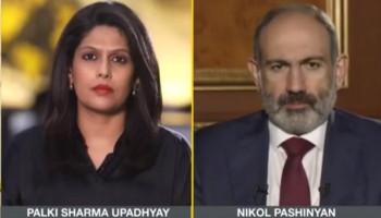 «Առանց Թուրքիայի պատերազմը չէր սկսվի». Փաշինյանը հարցազրույց է տվել հնդկական WION հեռուստաընկերությանը