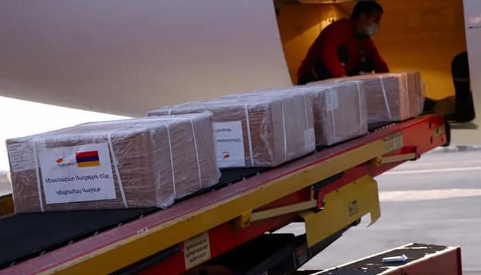 Humanitarian aid from Cyprus Armenians arrives in Yerevan