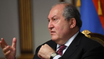 Armen Sarkissian: Turkey risks setting the whole Caucasus ablaze
