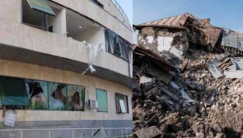ВС Азербайджана нанесли более 15 ударов по разным районам Степанакерта и Шуши