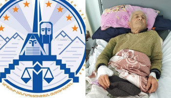 Artsakh ombudsman: The life of 90-year-old Sergey Hakobyan, who was injured in Shushi, is not in danger