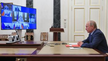 Путин обсудил с Совбезом ситуацию в Нагорном Карабахе