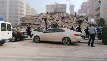 В Турции произошло землетрясение магнитудой 6,6