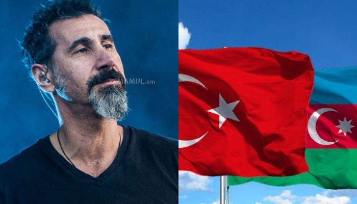 ,,Azerbaijan and Turkey will be judged for war crimes,,: Serj Tankian
