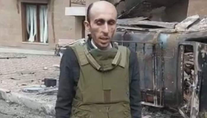 Artak Beglaryan's new video message & introduction on the recent war crimes of Azerbaijan against Artsakh people