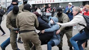 Ավելի քան 1000 մարդ է ձերբակալվել Բելառուսում երեկվա բողոքի ակցիաների ժամանակ