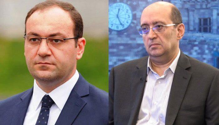 Сотрудники СНБ подвергли приводу Ара Акопяна и Арсена Бабаяна