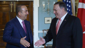 Cavusoglu refused to meet with Pompeo. #Bloomberg