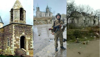 ,,We strongly condemn the vandalism done to Shushi St. John Mkrtich (Kanach Jam) church,,: Mother See of Holy Etchmiadzin