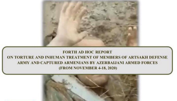 We have finished the 4th closed report on atrocities committed by the Azerbaijani armed forces against captured ethnic Armenians and corpses. Arman Tatoyan