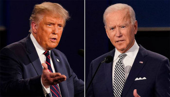 Trump says Biden can only enter the White House as president if he can 'prove' his 'ridiculous 80M votes' were NOT 'obtained by fraud' as he appears to row back peaceful transition claims