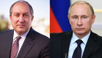 Президент Армении обратился к президенту России с просьбой помочь с возвращением пленных из Азербайджана