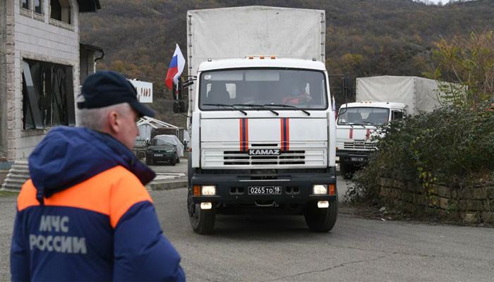 Россия доставила гумпомощь в Нагорный Карабах