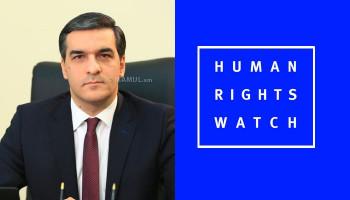 «Ըստ Human Rights Watch-ի՝ հայ գերիները ենթարկվել են բռնության ու նվաստացման». ՄԻՊ