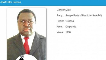 Namibia: Man named after Adolf Hitler wins local election