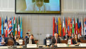 Armenian foreign Minister Ara Ayvazyan participates in the 27th meeting of the OSCE Council of foreign Ministers
