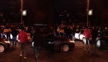 Բողոքի ակցիան ավարտվեց. ցուցարարներն ուղևորվում են Ոստիկանության Կենտրոնի բաժանմունք