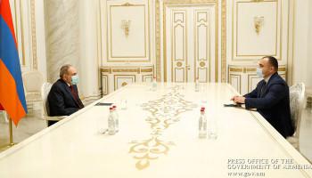 Վարչապետը հանդիպում է ունեցել ՍԴ նախագահի հետ