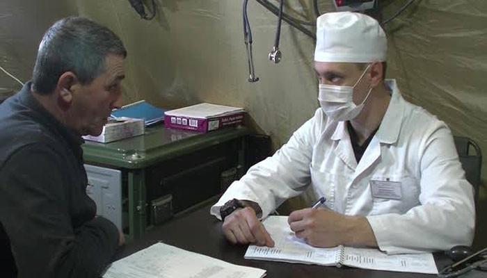Ռուս բժիշկները Ստեփանակերտում հիվանդների ընդունելություն են սկսել