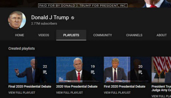 #YouTube temporarily blocks Donald Trump account