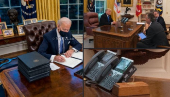 "Biden removes Trump's ""cola button"" from office"