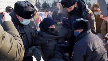 Ռուսաստանում ցույցեր են սկսվել՝ ի պաշտպանություն Նավալնիի