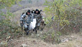 В Матагисе и Джракане обнаружены останки еще 4 военнослужащих