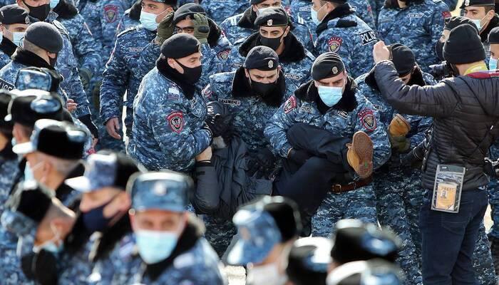 Освещение протестов в Ереване в российских СМИ