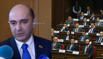 Эдмон Марукян: У парламента нет председателя