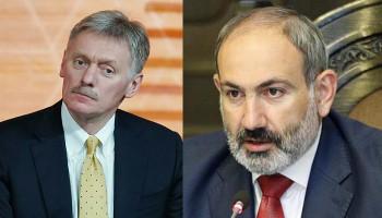 """Песков оценил заявление Пашиняна о неверном докладе по """"Искандерам"""""""
