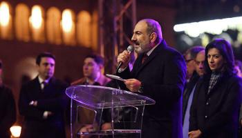 Пашинян извинился перед народом и предложил провести выборы в парламент․ #РИАНовости