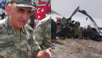 Թուրքիայում ավիաաղետից զոհվել է գեներալն, ով կազմել էր Արցախում Ադրբեջանին հաղթանակ բերած մարտավարությունը