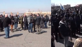 Российские СМИ об акции в поддержку начальника Генштаба Оника Гаспаряна