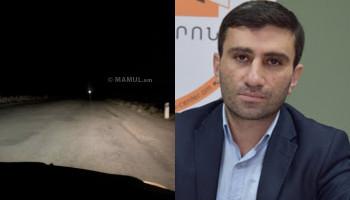 «Հայաստանի ամենավտանագավոր ճանապարհներից մեկը». Դերենիկ Մալխասյան