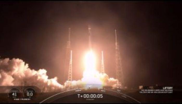 Ракета Falcon 9 со спутниками Starlink стартовала во Флориде