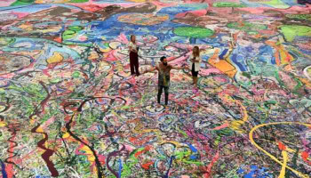 Самую большую в мире картину продали более чем за 60 миллионов долларов